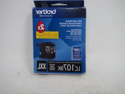 Brother Printer LC107BK Super High Yield Cartridge Ink, Blac