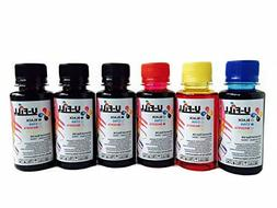 U FiLL INK Refill Kit for HP Canon Cartridges 600ml for Cano