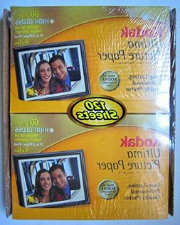 Kodak Ultima Picture Paper Photo Paper 4x6 High Gloss Profes