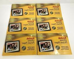 Kodak Ultima Picture Paper for Inkjet Printers 20 Sheets Hig