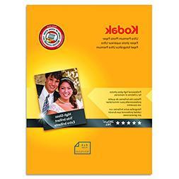 ** Ultra Premium Photo Paper, 76 lbs., High-Gloss, 4 x 6, 20
