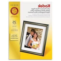 Ultra Premium Photo Paper, 10 Mil, High-Gloss, 8-1/2 X 11, 2