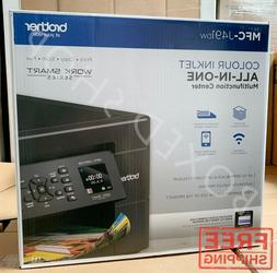 Brother Wireless All-in-One Inkjet Printer, MFC-J491DW,Color