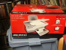 Lexmark X1240 All-In-One Inkjet Printer print copy fax scan