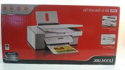 Lexmark X5320 All-In-One with Fax Inkjet Printer ~ New ~ Sea