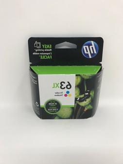 HP 63XL High-Yield Tri-Color Original Ink Cartridge in Retai